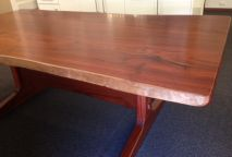 Jarrah Dining Table natural edge