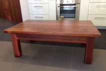 Coffee Table - rectangle solid Jarrah